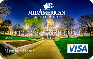 State capitol in Topeka debit card design