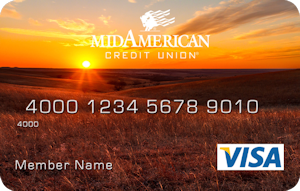 Sunset in Flint Hills debit card design