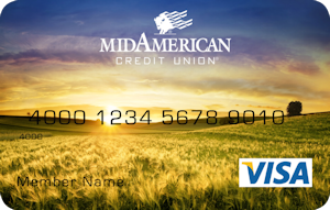 Sunset debit card design