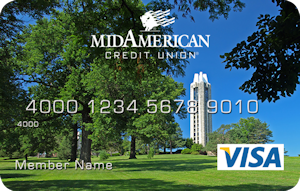 The bell tower debit card design